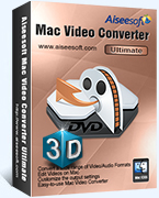Aiseesoft Mac Video Converter Ultimate LifeTime 40% Deal
