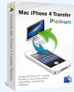 Aiseesoft Mac iPhone 4 Transfer Platinum Sale Voucher - 15%