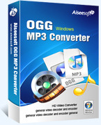 Aiseesoft OGG MP3 Converter Voucher Code Exclusive