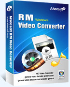 Aiseesoft RM Video Converter Voucher - 15% Off
