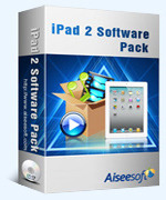 Aiseesoft iPad 2 Software Pack Voucher - Exclusive