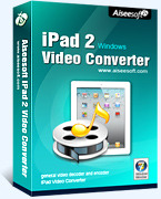 Aiseesoft iPad 2 Video Converter Voucher Code - 15% Off