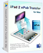 Special 15% Aiseesoft iPad 2 ePub Transfer for Mac Voucher Code Exclusive