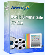 Aiseesoft iPad 3 Converter Suite for Mac 40% Savings
