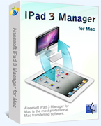 Get 40% Aiseesoft iPad 3 Manager for Mac Deal