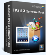 Aiseesoft iPad 3 Software Pack Voucher Deal - EXCLUSIVE
