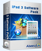 40% Aiseesoft iPad 3 Software Pack Voucher