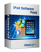 Aiseesoft iPad Software Pack 40% Voucher