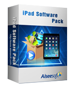 Aiseesoft iPad Software Pack Sale Voucher