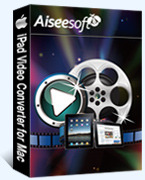 Special 15% Aiseesoft iPad Video Converter for Mac Voucher Code Exclusive