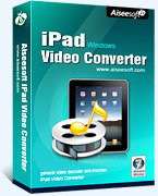 15% Aiseesoft iPad Video Converter Discount Voucher