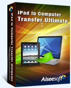 Aiseesoft iPad to Computer Transfer Ultimate Voucher Code Discount - 15%