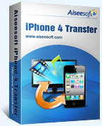 Aiseesoft iPhone 4 Transfer Voucher Code Exclusive - SPECIAL