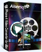 Special 15% Aiseesoft iPhone 4 Video Converter for Mac Sale Voucher