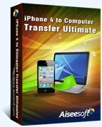 40% off Aiseesoft iPhone 4 to Computer Transfer Ultimate