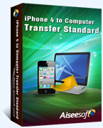 Grab 40% Aiseesoft iPhone 4 to Computer Transfer Discount