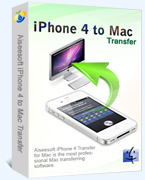Aiseesoft iPhone 4 to Mac Transfer Sale Voucher