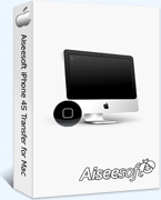 Aiseesoft iPhone 4S Transfer for Mac 40% Voucher Code