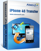 Aiseesoft iPhone 4S Transfer 40% Discount Code