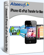 Aiseesoft iPhone 4S ePub Transfer for Mac 40% Voucher