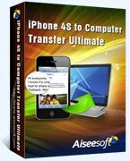 Aiseesoft iPhone 4S to Computer Transfer Ultimate 40% Voucher