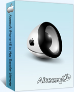 40% voucher Aiseesoft iPhone 4S to Mac Transfer Ultimate