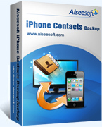 Aiseesoft iPhone Contacts Backup Voucher Code - Special