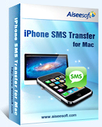 40% discount Aiseesoft iPhone SMS Transfer for Mac