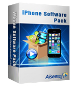 40% Voucher Aiseesoft iPhone Software Pack