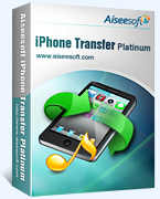 40% Discount Aiseesoft iPhone Transfer Platinum