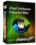 40% Savings on Aiseesoft iPod Software Pack for Mac Voucher