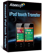 Receive 40% Aiseesoft iPod touch Transfer Voucher