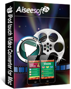 Secure 40% Aiseesoft iPod touch Video Converter for Mac Voucher