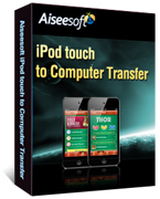 40% Aiseesoft iPod touch to Computer Transfer Discount
