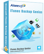 Aiseesoft iTunes Backup Genius Discount Voucher