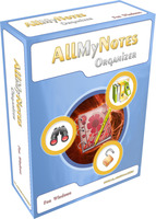 All My Notes Organizer - Deluxe Edition (Desktop/Portable) Voucher - SALE