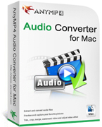 90% Savings on AnyMP4 Audio Converter for Mac Lifetime License Voucher