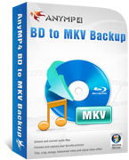 AnyMP4 BD to MKV Backup Lifetime License 90% Voucher