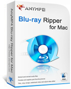 AnyMP4 Blu-ray Ripper for Mac Lifetime License 90% Deal