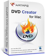 AnyMP4 DVD Creator for Mac Lifetime License 90% Discount Code