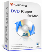 20% AnyMP4 DVD Ripper for Mac Savings