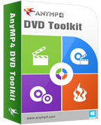 AnyMP4 DVD Toolkit Lifetime License 90% Voucher