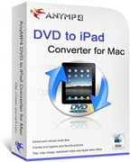 20% Discount AnyMP4 DVD to iPad Converter for Mac Voucher