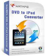 20% AnyMP4 DVD to iPad Converter Voucher