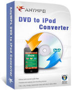 20% Off AnyMP4 DVD to iPod Converter Voucher Code