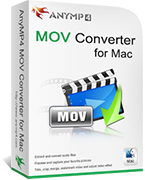 AnyMP4 MOV Converter for Mac Voucher Code Exclusive
