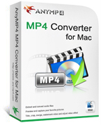 20% off for AnyMP4 MP4 Converter for Mac