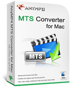 20% Discount AnyMP4 MTS Converter for Mac-JP