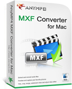 20% off for AnyMP4 MXF Converter for Mac