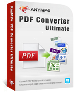 AnyMP4 PDF Converter Ultimate Sale Voucher